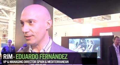 """""""Playbook 2.0 ha cambiado completamente la percepción de nuestro tablet"""", entrevista a Eduardo Fernández de RIM"""