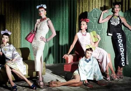 Nueva campaña de Miu Miu : elegancia y sofisticación de los años cincuenta