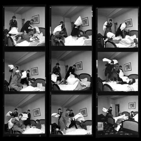 Pongamos música al día con The Beatles y las fotografías de Harry Benson