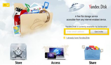 Yandex.Disk, otro que se apunta al almacenamiento en la nube