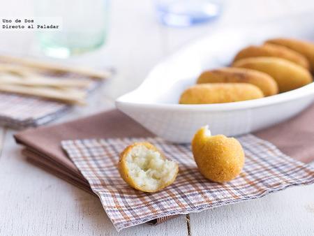 Receta de croquetas de queso variado