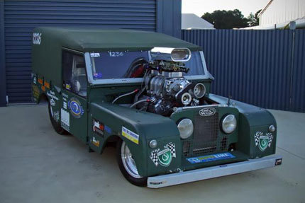 Land Rover Defender Series 1 Dragster