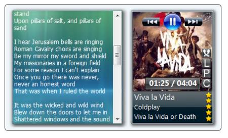 Now Playing, controla tu reproductor multimedia desde la Sidebar de Vista