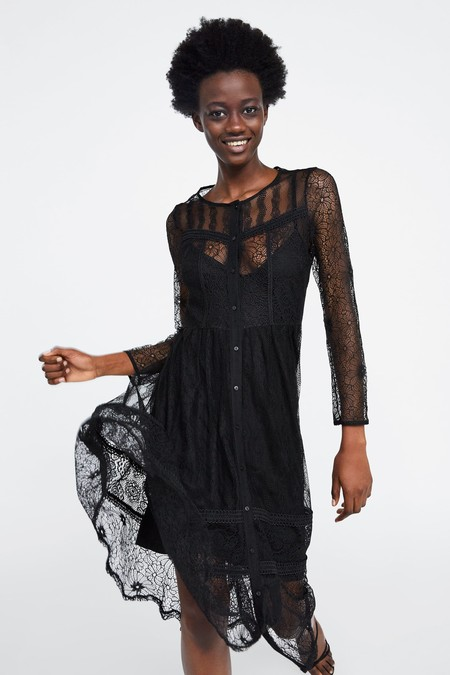 Zara Vestidos Primavera 2019 02