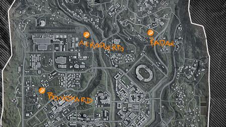 Mapa Verdanslk Bunkeres