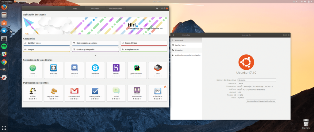 Centro De Programa Informático Ubuntu 17(diecisiete) 10