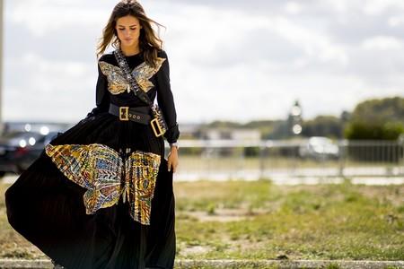 Combinar Vestido Negro Verano 4