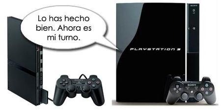 PlayStation 3 empieza a tomar el relevo de PlayStation 2