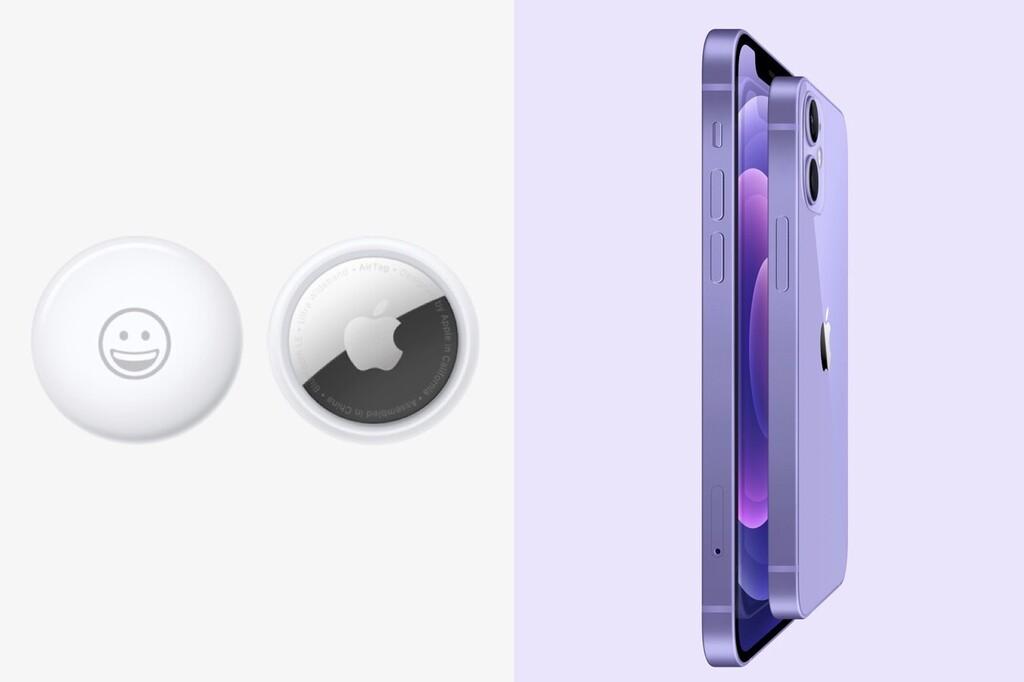 Reservas abiertas: ya puedas comprar el AirTag y el iPhone doce de color púrpura