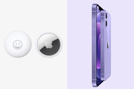 Reservas abiertas: ya puedes comprar el AirTag y el iPhone 12 de color púrpura
