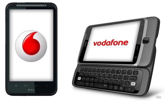 Vodafone lanza HTC Desire HD y Desire Z