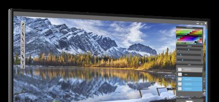 Este monitor, el Dell UltraSharp UP2718Q, alardea de prestaciones de altura y un precio de infarto