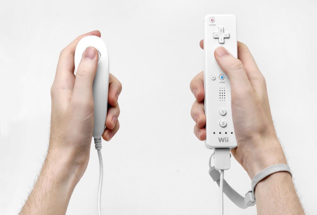 Wiimote In Hands