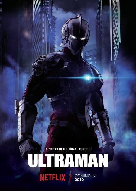 Ultraman Netflix Poster Oficial