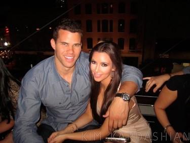 Pero qué mona (por decir) iba Kim Kardashian el día de su boda