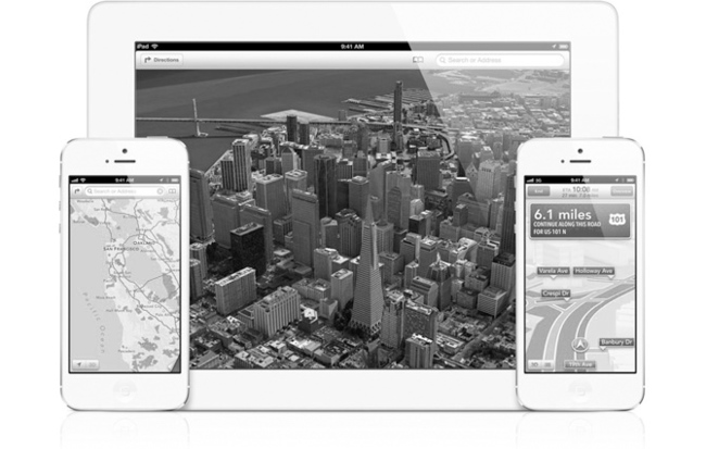 Apple mapas
