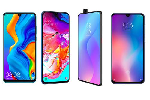 Xiaomi Mi 9T, comparativa: así queda contra el Samsung Galaxy A70, Xiaomi Mi 9 SE, Realme 3 Pro y Huawei P30 Lite