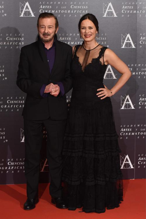 Los famosos se dan cita en la ceremonia de entrega Medallas de Oro de la Academia de Cine de Madrid