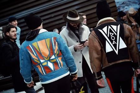 El Mejor Street Style De La Semana Chaqueta Abrigo Borreguillo Shearling Jacket 08