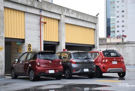 Nissan March Vs Hyundai Grand I10 Vs Suzuki Ignis Comparativa Opiniones Mexico 3