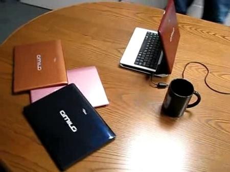Fujitsu Amilo Mini con carcasas intercambiables