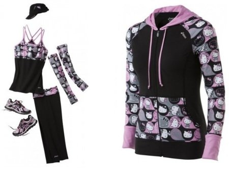 Completa colección de Asics inspirada en Hello Kitty