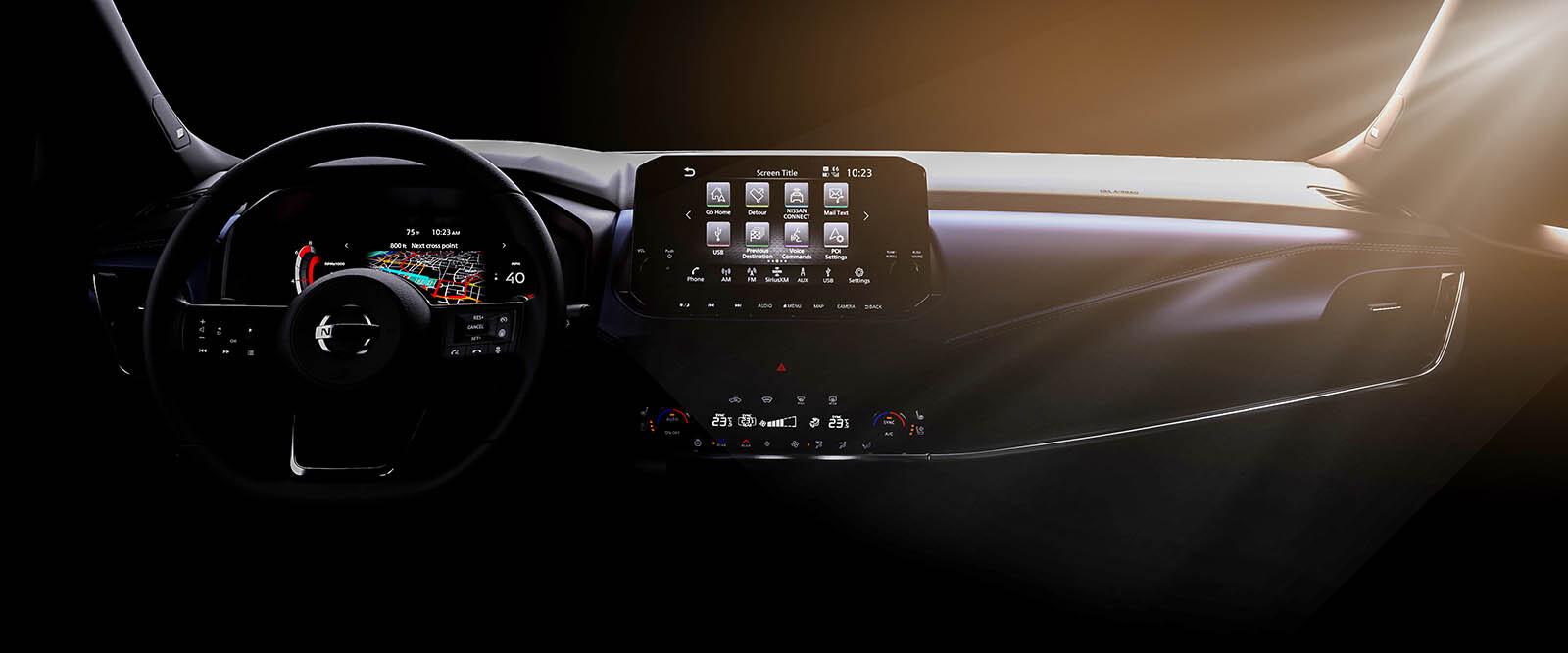 Foto de Nuevo Nissan Qashqai 2021 avance interior (1/14)