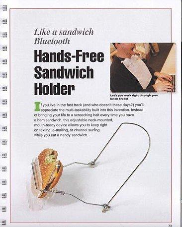 Llega el manos libres para comer sandwiches