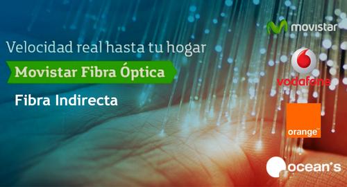 Vodafone y Orange ya ofrecen fibra simétrica a 300 megas con acceso indirecto bajo cobertura Movistar