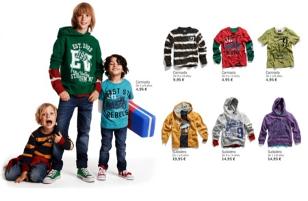 HM viste a los niños en su vuelta al cole con su colección Otoño-Invierno 2010/2011 II