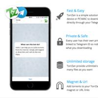TorrZan o cómo descargar torrents a través de Telegram