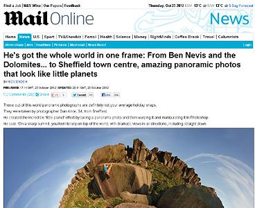 Las increíbles fotos panorámicas de Dan Arkle