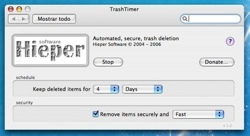 TrashTimer: Programa el borrado del contenido de tu papelera, de forma segura