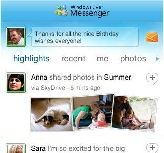Windows Live Messenger 1.1 para iPhone con interesantes mejoras