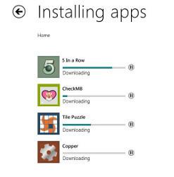 Instalando apps en Windows Store