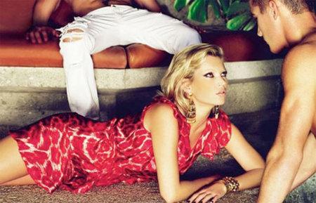Campaña completa de Kate Moss para Just Cavalli Primavera-Verano 2009