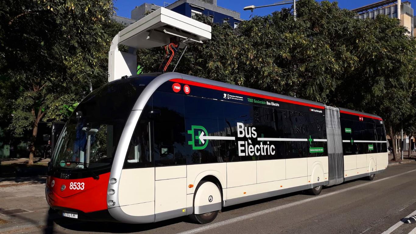 Autobuses eléctricos: Gran idea si usan fuentes renovables y ecológicas.