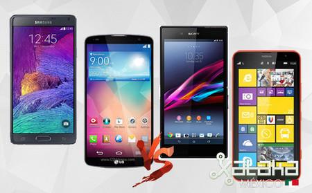 Samsung Galaxy Note 4 contra su competencia en México