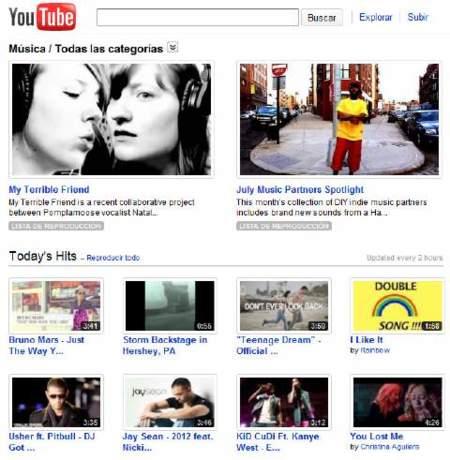 Google quiere un servicio de suscripción de música y piensa en Youtube