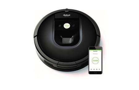 Por 529,99 euros tenemos en Amazon el robot de limpieza Roomba 981 en oferta