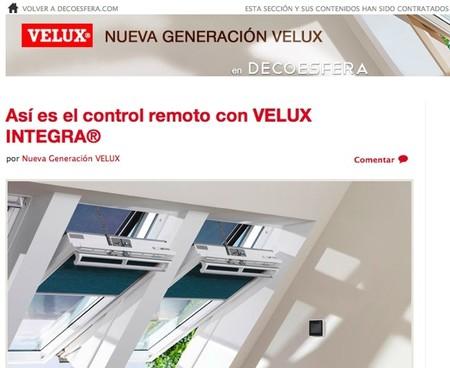 Estrenamos el espacio Nueva Generación VELUX en Decoesfera