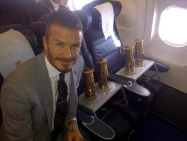 David Beckham, el guardián del fuego