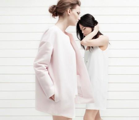 mango ss 2014 abrigo rosa