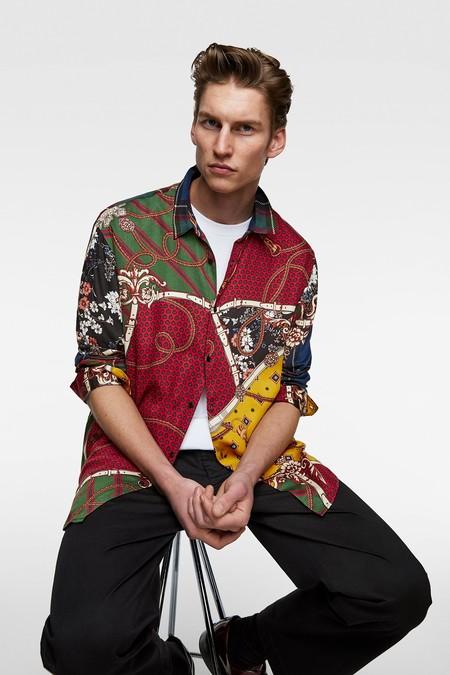 Clonados Y Pillados La Camisa Mas Colorida De Loewe Para Llevar Este Verano Ya Esta En Zara
