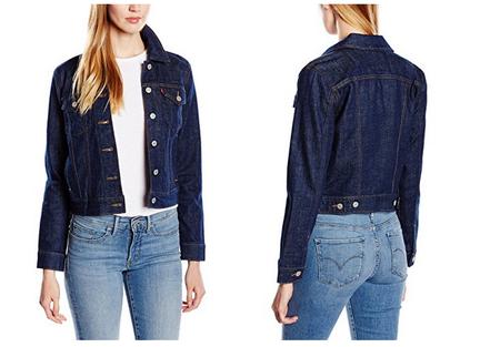 comprar online 1c8af ca3ac La chaqueta vaquera para mujer Levi's Authentic Trucker está ...