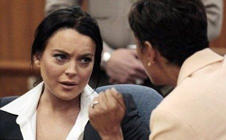 ¡Lo de Lindsay con el alcohol y las drogas es muy fuerte!