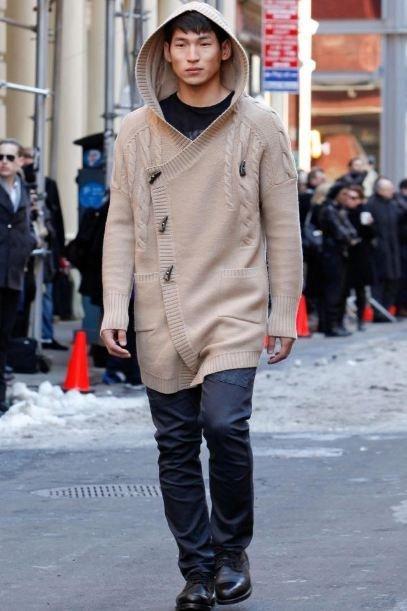 Moda para hombres: entre el punto trenzado y los brogues