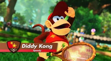 Diddy Kong ya tiene preparada su raqueta para debutar en Mario Tennis Aces en septiembre [GC 2018]
