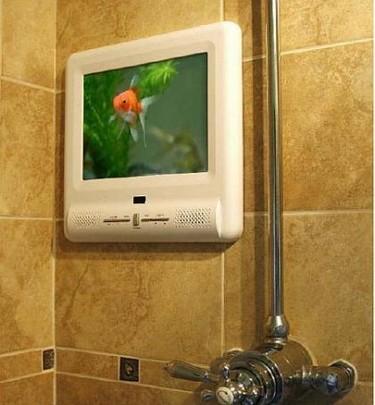 Techvision W104: Un televisor en la ducha