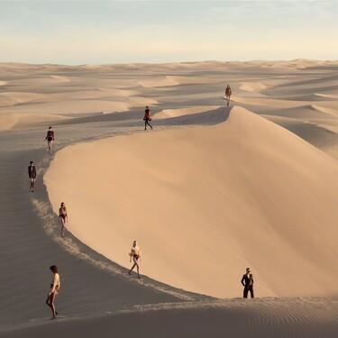 Así de maravilloso ha sido el desfile de Saint Laurent sobre las dunas del desierto